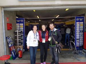 Ostéopathe et sportifs - aux 24h du Mans Moto